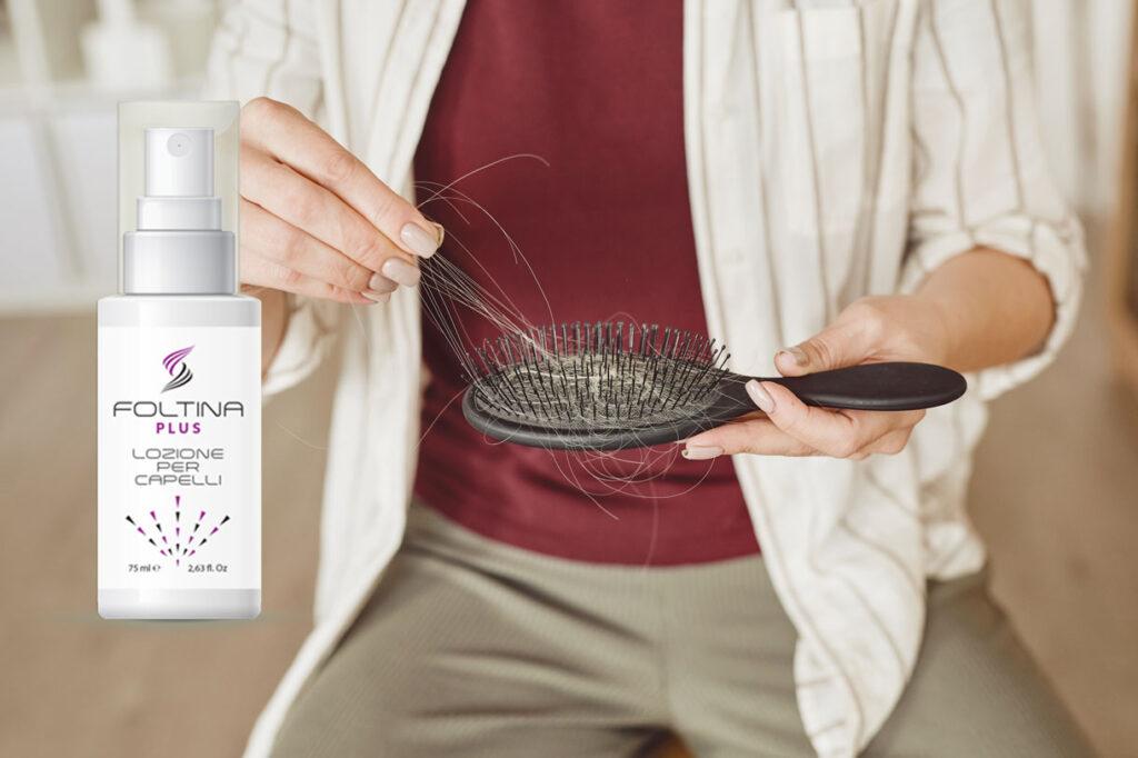 foltina plus lozione anticaduta per capelli