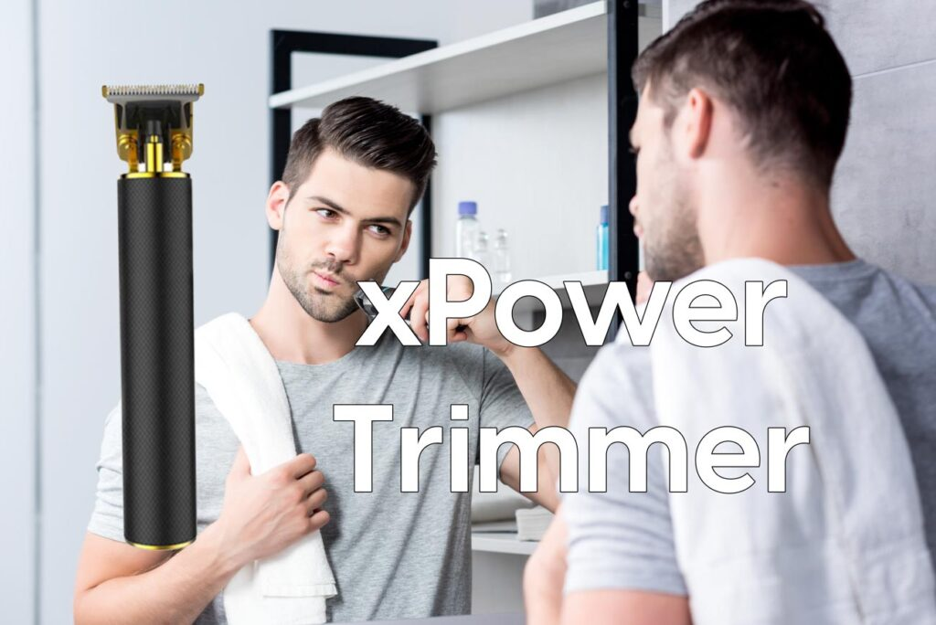 xpower trimmer rasoio
