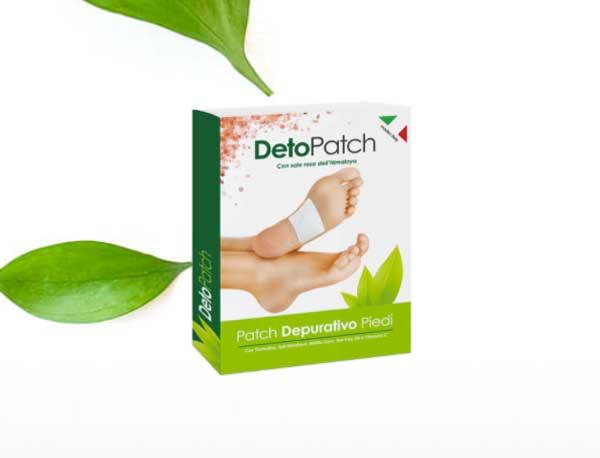 deto patch cerotto plantare detox